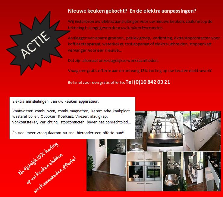 Stopcontact Keuken Aanleggen : Keuken leidingen verleggen aanleggen is onze specialisme. Tel 010 8420